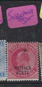 INDIA  PATIALA   (P2107B)  KE   1A       SG  38     MOG