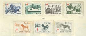 Finland B169-B175 Mint VF NH