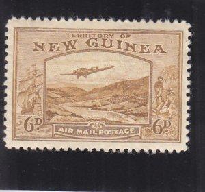 New Guinea: Sc C53, MH, Small Thin (36219)