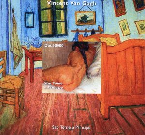 Sao Tome & Principe 2005 VAN GOGH Nudes Paintings s/s Imperforated Mint (NH)
