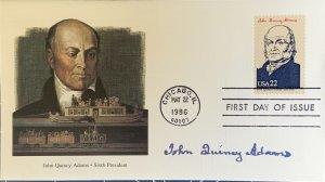Fleetwood 2216 President John Quincy Adams Steam Trains