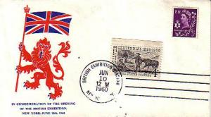 United States, Event, Stamp Collecting, New York, Great Britain