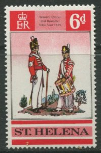STAMP STATION PERTH St Helena #228 British Uniforms 1969 MNH