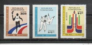 Dominican Republic 1128-1130 MNH