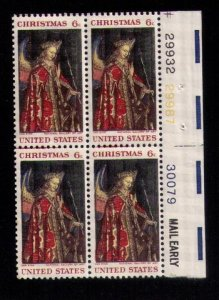 US Sc 1363 MNH p#29932/30079 Mail Early Block of Four VF