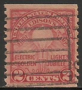 United States 1929 Scott# 656 Used