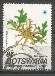 BOTSWANA, 1991, used 8t, Christmas, Scott 502