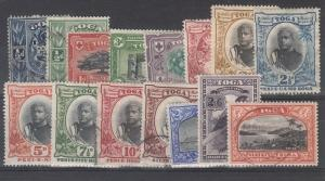 Tonga Scott 38-52 Mixed mint and used set (Catalog Value $265.00)