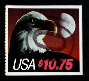 US STAMP Sc #2122 SON Double Oval Cancel VF $10.75 EXPRESS MAIL, EAGLE AND MOON