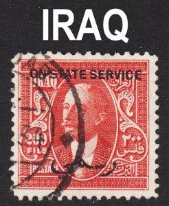 Iraq Scott O69 F to VF used.