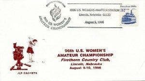 GOLF CANCEL - 96TH US WOMEN'S OPEN   STATION  1996  G511