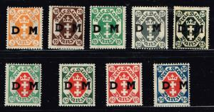 GERMANY STAMP DANZIG STAMPS COLLECTION LOT  #8
