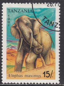 Tanzania 793 Elephant 1991