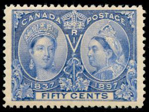 momen: Canada Stamps #60 Mint OG Jubilee VF