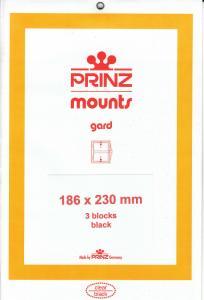PRINZ BLACK MOUNTS 186X230 (3) RETAIL PRICE $10.50