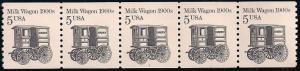 US 2253 MNH - PNC 5- Plate 1 - Milk Wagon