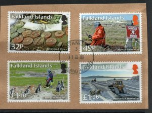 Falkland Islands Mine clearance 2020 used  set