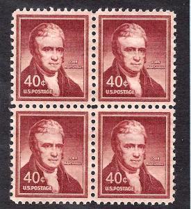 1050a Mint,OG,NH... Block of 4... SCV $6.00