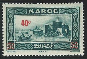French Morocco mlh scott cat #  148