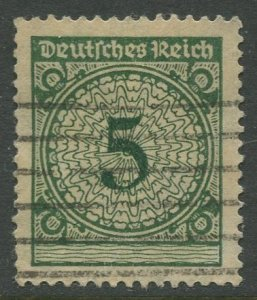 STAMP STATION PERTH Germany #324 General Issue Used 1923