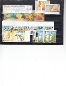 Alderney Scott 55 // 105 Mint NH (6 sets) Catalog Value $48.90