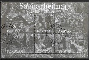 Faroe Islands - # 499 - Prints by Elinborg Lützens - SS - used