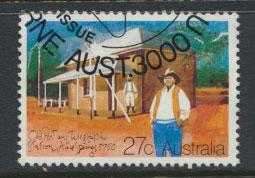 Australia SG 855 Used PO bureau Cancel