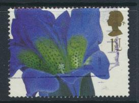 Great Britain SG 1955  Used  - Greetings Flower Paintings