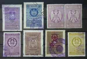 Yugoslavia Serbia Some High Value Revenue Stamps  C1