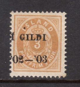 Iceland #49 VF Mint