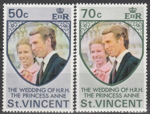 St Vincent #358-9  MNH   (S2967)