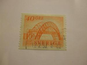 Sweden #496 used