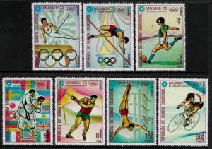 Equatorial Guinea MNH Set - 1972 Munich Olympics (Z004)