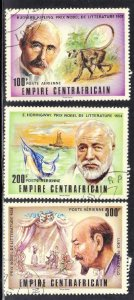 CENTRIAL AFRICAN REP.  SC# C180-82  CTO   1977   SEE SCAN