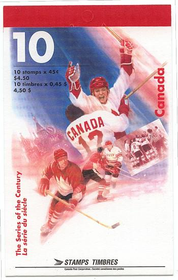 Canada - Canada - The Series of the Century Hockey Booklet