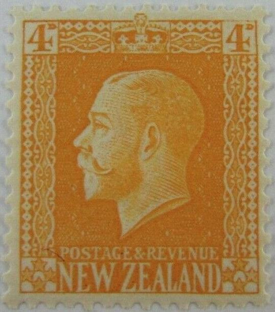 New Zealand 150 SG421 YT153 Mi141C MNH 1915 George V