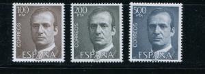 Spain #2268-70 MNH