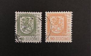 Finland 1989 #713-14 Used, CV $1