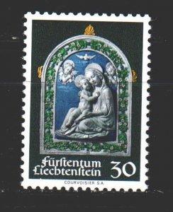Liechtenstein. 1971. 555. Christmas. MNH.
