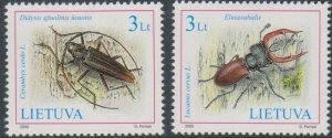 Lithuania 2003 #708-9 MNH. Insects