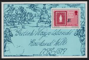 BVI Death Centenary of Sir Rowland Hill MS SG#MS416 SC#363