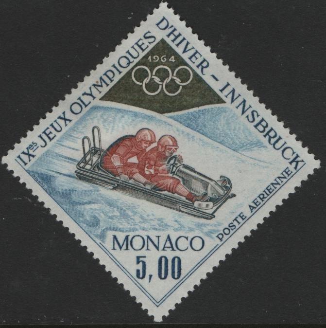 MONACO, C65 HINGED 1964 Bobsledding