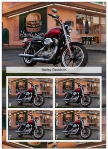 TONGO SHEET IMPERF CINDERELLA HARLEY DAVIDSON MOTORCYCLES