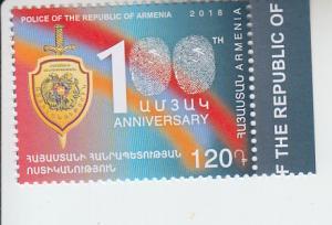 2018 Armenia RA Police (Scott NA) MNH