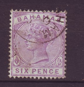 J24078 JLstamps 1884-90 bahamas used #30 queen