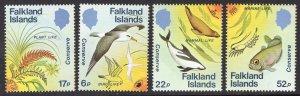 FALKLAND ISLANDS SCOTT 412-415