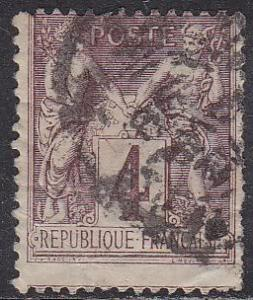 France 90a Peace and Commerce 1877