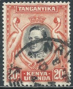 Kenya, Uganda & Tanganyika, Sc #74, 20c Used