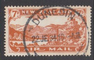 NEW ZEALAND 1931 7d airmail fine used - ACS cat NZ$30.......................M435