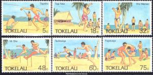 Tokelau Scott 144-149 Mint never hinged.